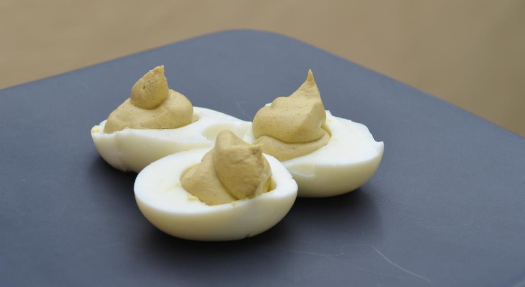 gefüllte eier