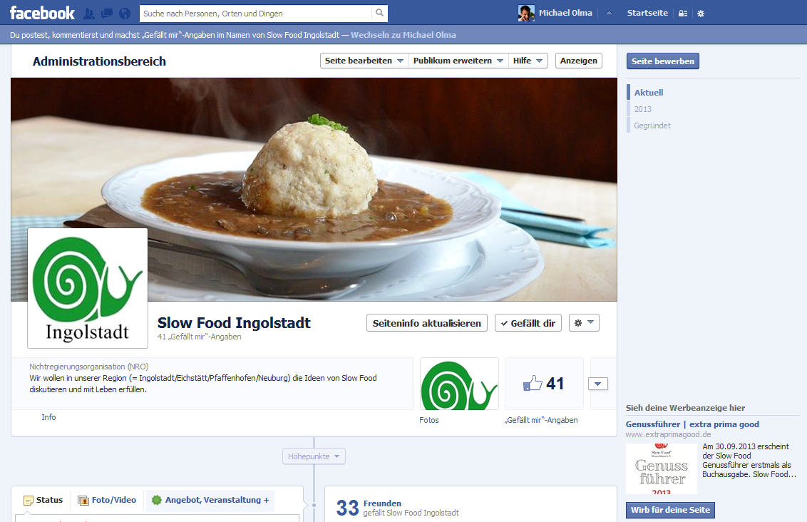 slow food facebook